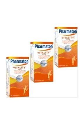 Pharmaton Vitality 30 Kapsül 3 Adet