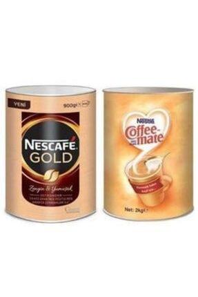 Nescafe Gold Kahve 900 gr Nestle Coffee Mate 2 kg