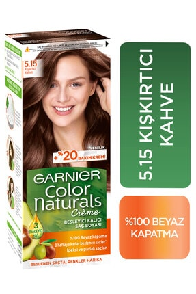 Garnier Kışkırtıcı Kahve Color Naturals Saç Boyası