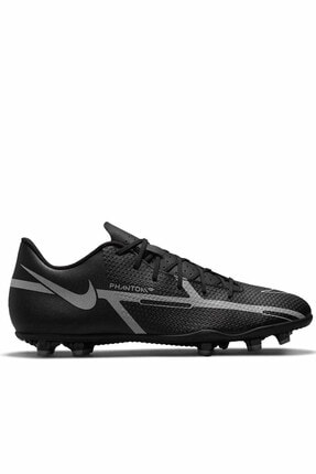 Nike Phantom Gt2 Fg/mg Erkek Krampon Ayakkabı Da5640-004-sıyah