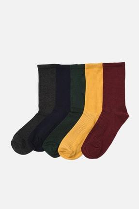 TRENDYOL MAN Çok Renkli Erkek 5'li Paket Soket Çorap TMNAW22CO0094
