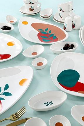 Keramika Olivia Kahvaltı Takımı 37 Parça 6 Kişilik