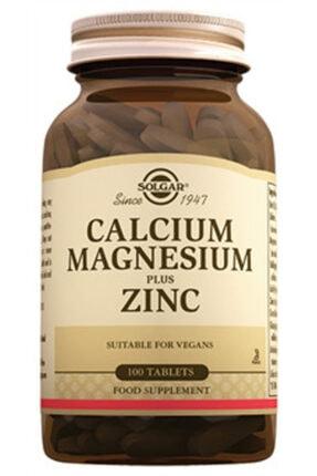 Solgar Kalsiyum Magnezyum Plus Zinc 100 Tablet