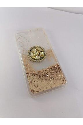 Penguen Iphone 8 Plus Sulu Simli Yüzüklü Kılıf