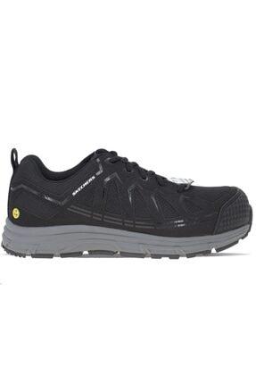 SKECHERS Malad Güvenlik Donanımlı Erkek Ayakkabı 77535ec-blk