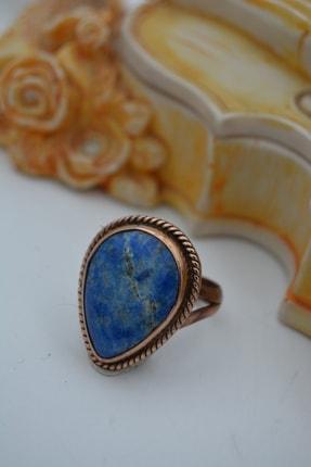 Stoneage Lapis Lazuli Doğaltaşlı El Sıvaması Yüzük
