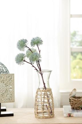 English Home Dandelion Tek Dal Yapay Çiçek 52 Cm Mavi