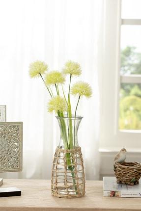 English Home Dandelion Bouquet Tek Dal Yapay Çıçek 46 Cm Beyaz