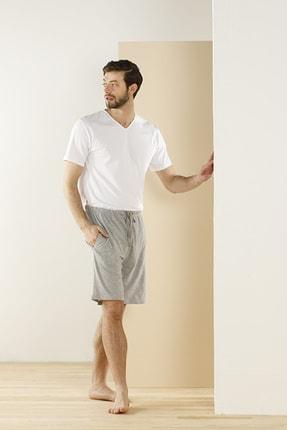 English Home Cotton Fit V Yaka Pamuk Erkek Fanila Xl Beyaz