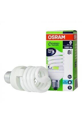 Osram Dulux Mini Twist 23 W Tasarruflu Spiral Ampul Beyaz Işık E27 Normal Duylu 1600 Lümen