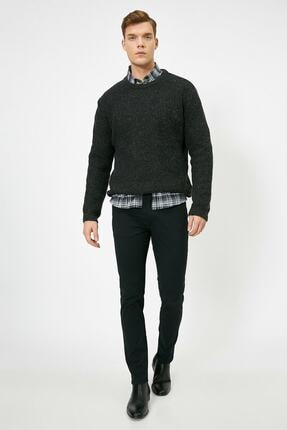 Koton Erkek Siyah Cep Detayli Pantolon