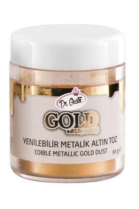 Dr. Gusto Metalik Toz Boya Gold 10 gr