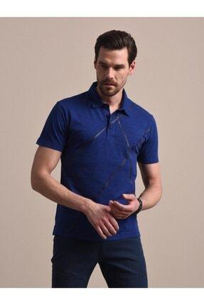 Kip Erkek Baskılı Örme T - Shirt