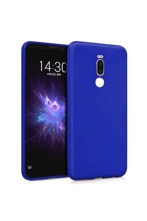 Meizu Microsonic Matte Silicone Note 8 Kılıf Mavi