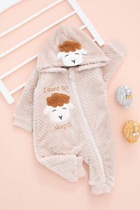 BabyWorldStore Kışlık Lüx Fermuarlı Bebek Tulum Takım