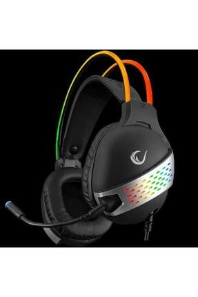 Rampage Rm-k37 Black Eagle Siyah Usb 7.1 Rgb Headband Gaming Mikrofonlu Oyuncu Kulaklığı