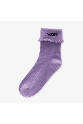 Vans Ruffle Edge Kadın Mor Çorap Vn0a5ı3mzb21