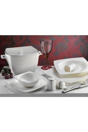 Aryıldız Ar30005 84 Parça 12 Kişilik Porselen Yemek Takımı