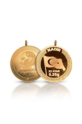 Nadir Gold 0.25 Gram 22 Ayar Kulplu Altın