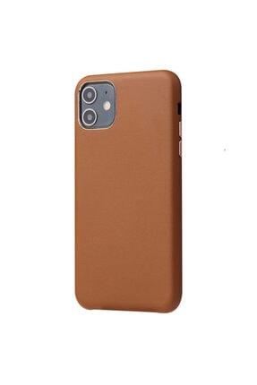 Kaptin Kaptin Apple Iphone 11 Eyzi Kapak Premium Deri Tasarım Kadife Iç Yüzey