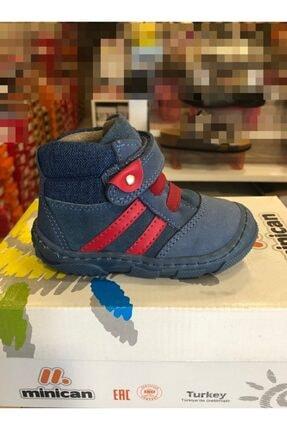 Minican Ilk Adım Hakiki Deri Tam Ortapedik Bebe Ayakkabısı