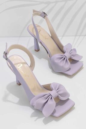 Bambi Lila Kadın Klasik Topuklu Ayakkabı K05527250009