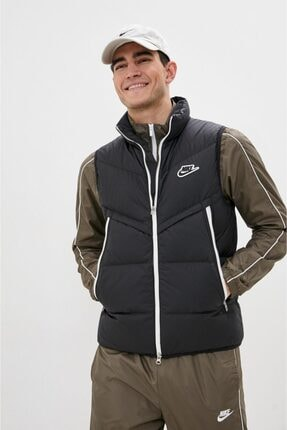 Nike Sportswear Down-fill Windrunner Shield Erkek Kaz Tüyü Yelek Siyah