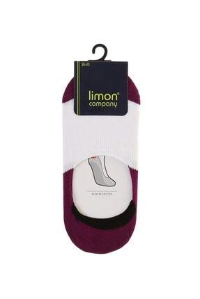 LİMON COMPANY Kadın Mor Soket Soket Çorap