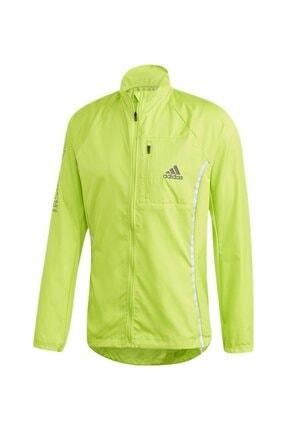adidas Adı Runner Jkt Yeşil Erkek Yağmurluk