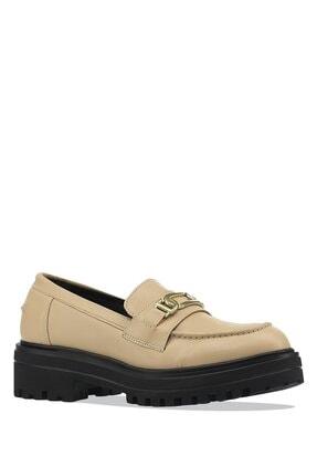 İnci Elısta.z 1pr Ten Kadın Loafer Ayakkabı