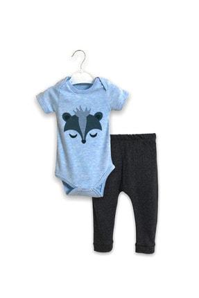 STARYU BABY Erkek Bebek Mavi Takım