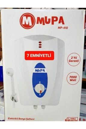 Mupa 7 Emniyetli %35 Tasarruflu Elektrikli Banyo Tipi Şofben Ani Su Isıtıcı