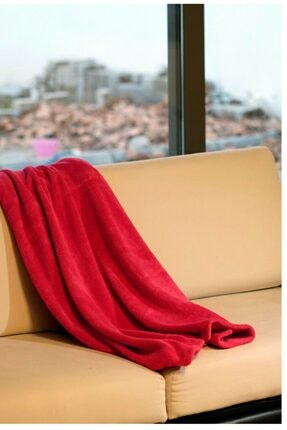 Mulberry Wellsoft Battaniye Dört Mevsim Televizyon Battaniyesi Peluş Polar Battaniye Tek Kişilik 170*230