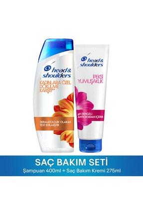 Head&Shoulders H&S Kep Karş Şamp Kadın Dök Karş 400ml+İpeksi Bak Krem 275ml