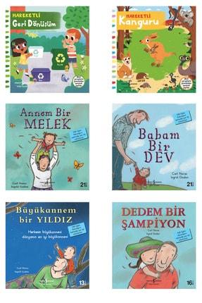 İş Bankası Kültür Yayınları 2 Hareketli Kitap 4 Ilk Okuma Kitabım Avantajlı Set