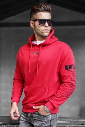Madmext Kırmızı Erkek Sweatshirt 5332