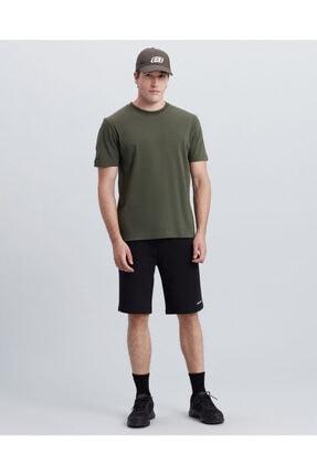 SKECHERS Erkek Haki Tshirt