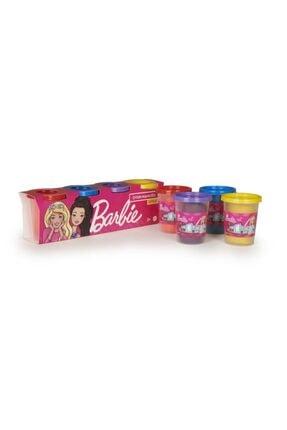 Barbie Renkli Oyun Hamuru 4'lü Paket 4x100 Gr
