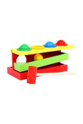 Wooden Toys Ahşap 4 Top Çak Çak