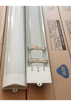 meva 40 Watt Led Bant Armatür Yatay 120 Cm Beyaz Aynı Gün Kargo