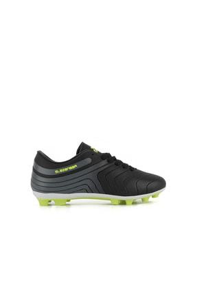 Slazenger Hans Krampon Futbol Erkek Çocuk Ayakkabı Siyah / Yeşil