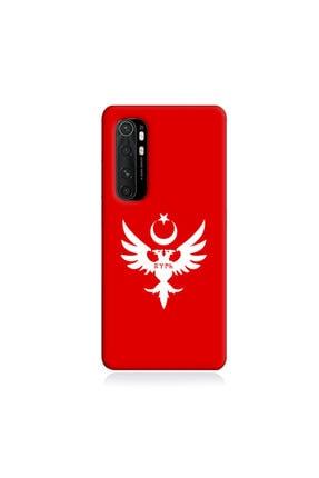 astak Xiaomi Mi Max Uyumlu Selçuklu Bayrağı Baskılı Telefon Kılıfı Kırmızı Tl928