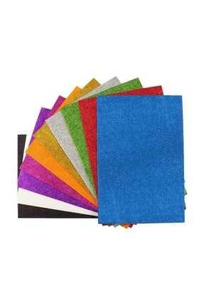 Ticon 50x70 Simli Eva 10 Renk Karışık Paket (yapışkanlı )