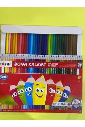 Fatih Tam Boy Kuru Boya 36 Renk ( Kırtasiye)