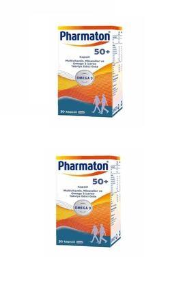 Pharmaton 50 Plus 30 Kap 2'li Paket