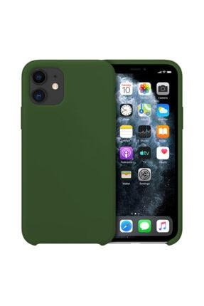 Buff Iphone 11 Uyumlu Rubber Fit Kilif Yesil