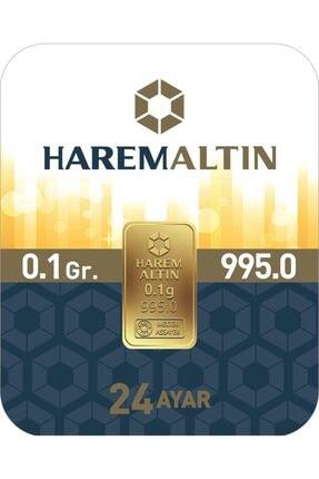 Harem Altın 0.10 Gr 24 Ayar Harem Gram Külçe Altın