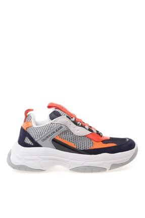Calvin Klein Lacivert Açık Gri Oranj Sneaker