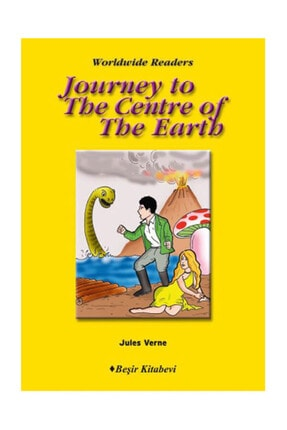 Beşir Kitabevi Journey To The Centre Of The World: Level 6 Jules Verne