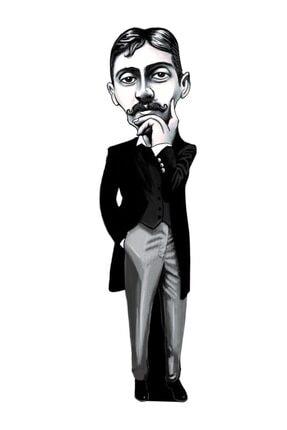 Aylak Adam Hobi Marcel Proust - Karikatür Ayraç
